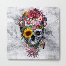 Voodoo Skull Metal Print