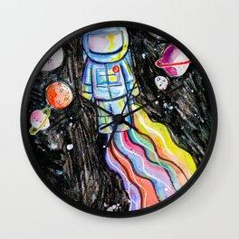 SPACE BLAST Wall Clock