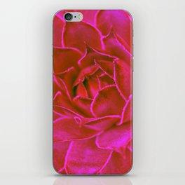 Suculenta Roja iPhone Skin