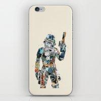 trooper iPhone & iPod Skins featuring modern trooper by bri.buckley