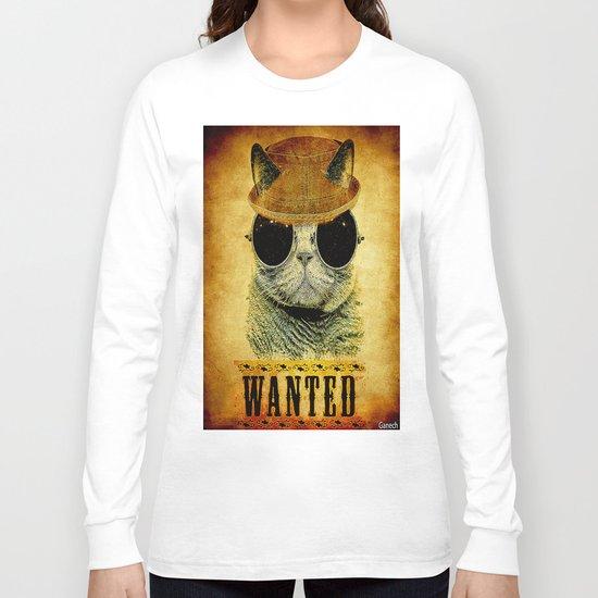 Cat Wanted Long Sleeve T-shirt