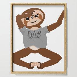 Sloth Dabbing Serving Tray