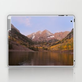 Sunrise at Maroon Bells Laptop & iPad Skin
