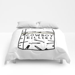 Cowboy Killers Comforters