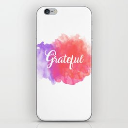 Grateful iPhone Skin