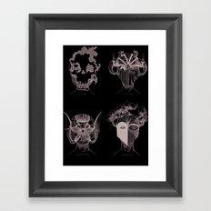 quatre éléments, autant de forces domestiquées par l'homme Framed Art Print