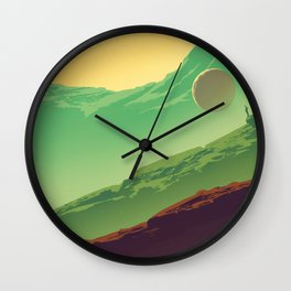 Orbital Wall Clock