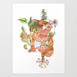 Gut Flora Art Print