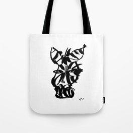 Zebra - Fusion of pen strokes Tote Bag