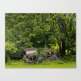 Long term parking Canvas Print