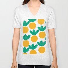 Minimalist Fruit Summer Pattern Unisex V-Neck