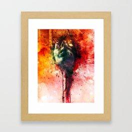 W.O.U.N.D.s Framed Art Print