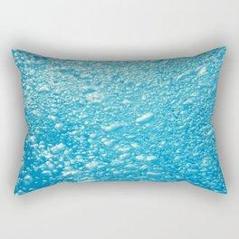 Bubbles Underwater Rectangular Pillow