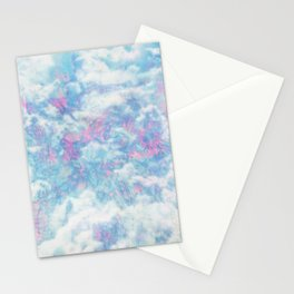Blue Pink Attractions Stationery Cards