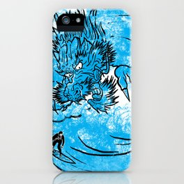 Dragon Waves iPhone Case
