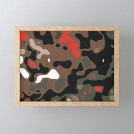 Camo 35 Framed Mini Art Print