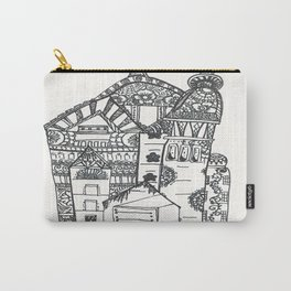 45. Halloween Castle with Henna Wall Carry-All Pouch