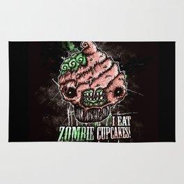 I Eat Zombie Cupcakes! Rug