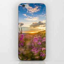 Heather Wicklow Mountains | Ireland iPhone Skin