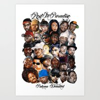 Rest In Peace  Art Print