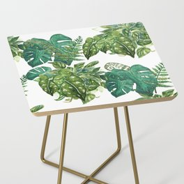A Pattern of Plants Side Table