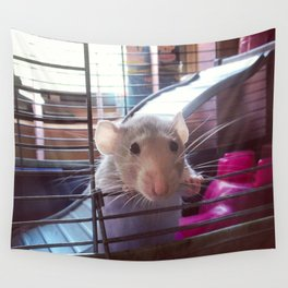 Olive the Rat Wall Tapestry