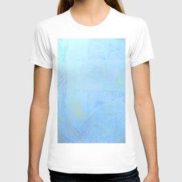 Blue Celtic Knot Pattern T-shirt