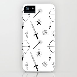 Dungeons and Patterns iPhone Case