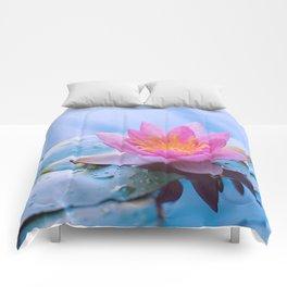 Lone Lotus Comforters