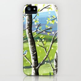Wild Cherry Blossom  iPhone Case