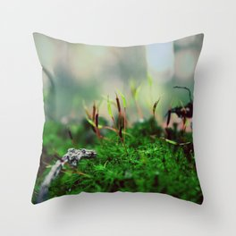 Exobiology Throw Pillow