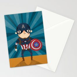 cap'n America Stationery Cards