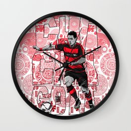 Chichagott Leverkusen Wall Clock