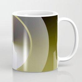 Serene Simple Hub Cap in Sepia Coffee Mug
