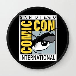 Comic-Con Wall Clock