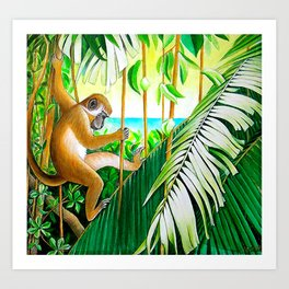 """""""Life in the Canopy"""" Art Print"""