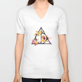 Life and Deathly Hallows Unisex V-Neck