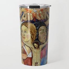 Mexican Theophany Teofania Mexicana by Juan Manuel Rocha Kinkin Travel Mug
