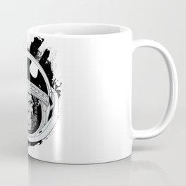 Space Monkey Black & white Coffee Mug