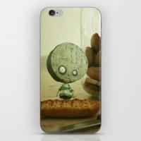 tim burton iPhone & iPod Skins featuring Brie Boy - Tim Burton by PaperTigress