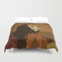 ethnic Duvet Covers featuring Ethnic.. by Viviana Gonzalez