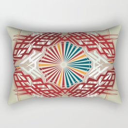 abstrkt placement Rectangular Pillow