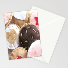 Felt Cookies Stationery Cards