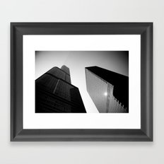 Impossible Angle Framed Art Print