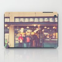 starbucks iPad Cases featuring A Star is Born. Seattle Starbucks photograph by Myan Soffia