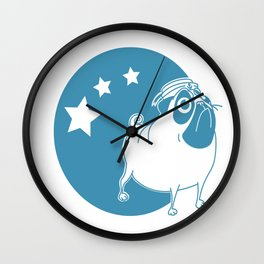 The deckhand-seawolves Wall Clock