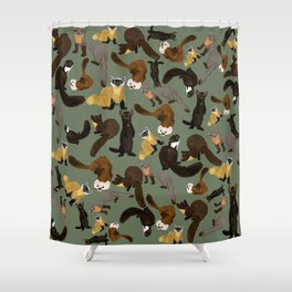 Martens of the World #1 Shower Curtain