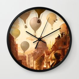 Voyage to the Unkown Wall Clock