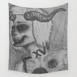 Card XV Wall Tapestry
