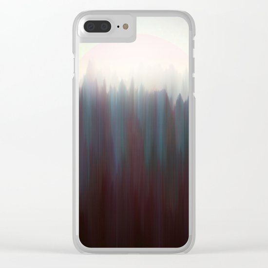 Forest Sun Clear iPhone Case